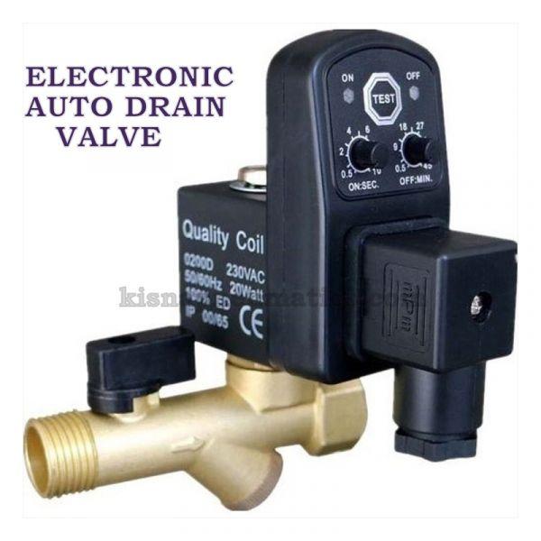 Auto Drain Valve Manufacturers Coimbatore - Kisna Pneumatics
